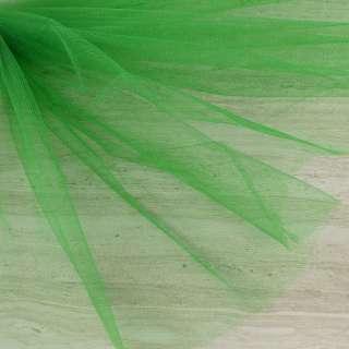 Фатин зеленый яркий ш.165