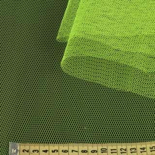 Фатин жесткий желтый неоновый ш.180
