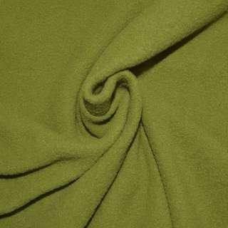 Флис зеленый яблоко ш.166
