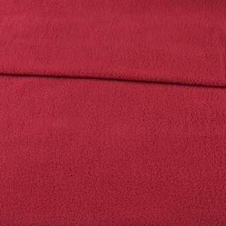 Флис красный темный ш.165