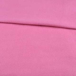 Флис розовый гвоздика ш.195