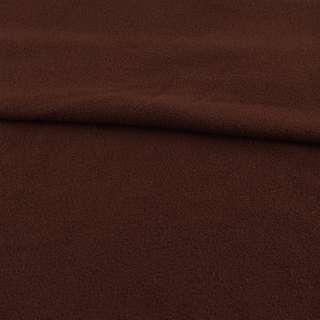 Флис коричневый шоколадный, ш.165