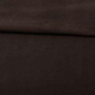 Флис коричневый темный ш.165