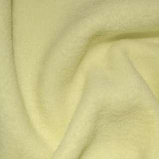 Флис лимонный бледный ш.164