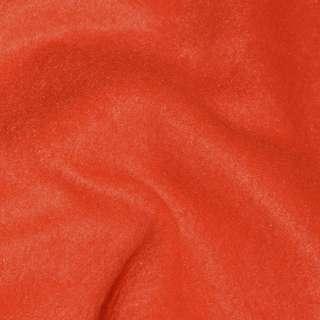 Флис красно-оранжевый ш.165