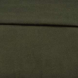 Флис оливковый темный ш.165