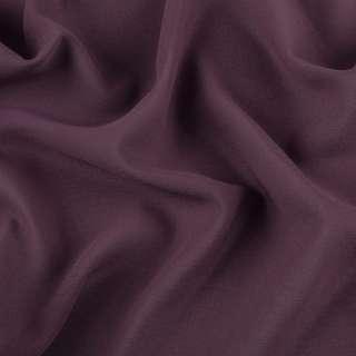 Креп-шифон стрейч фиолетово-серый темный ш.150