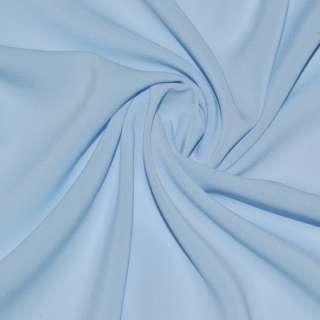 Шифон стрейч бледно-голубой ш.150