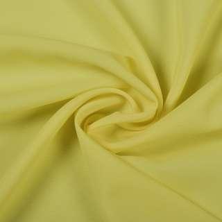 Шифон стрейч желто-лимонный ш.150