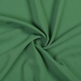 Шифон стрейч зеленый с серым оттенком ш.150