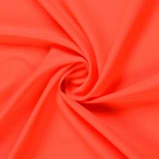 Шифон стрейч оранжево-красный ш.150
