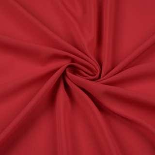 Шифон стрейч красный темный ш.150