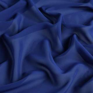 Шифон синий ш.150