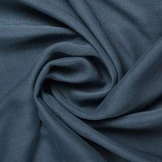 Штапель сине-серый ш.140