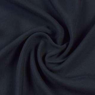 Штапель синий с черным оттенком, ш.140