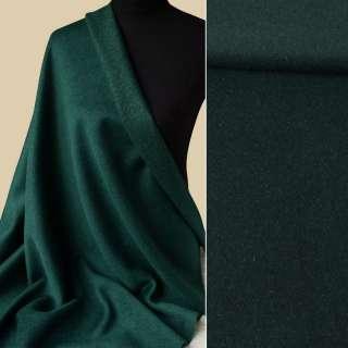 Шерсть пальтовая с метанитью золотистой зеленая темная, ш.152