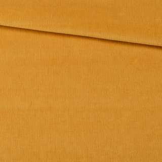 Микровельвет стрейч янтарный ш.140