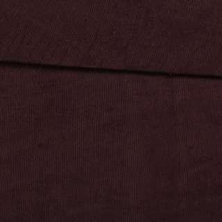 Микровельвет стрейч коричневый ш.155