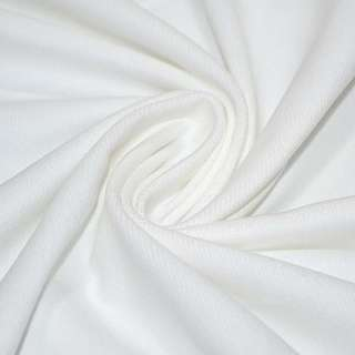 Велюр хлопковый белый ш.150