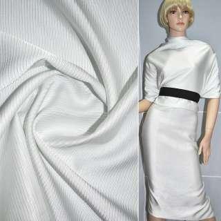 Вискоза костюмная репс белая