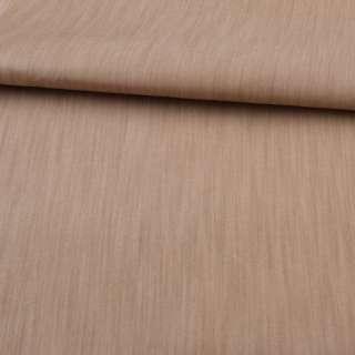 Джинс вискозный бежево-коричневый, ш.150
