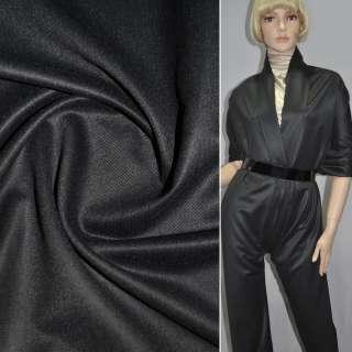 Шерсть костюмная темно-серая ш.145