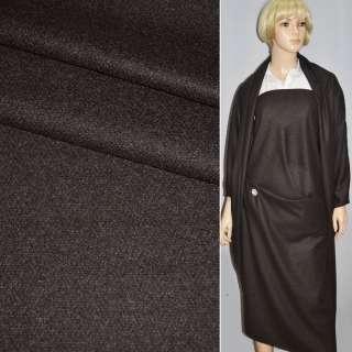 Ткань костюмная коричнево-серая с кашемиром CERRUTI италия ш.153
