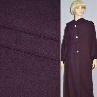 Ткань костюмная темно-сиреневая STRELLSON швейцария ш.154
