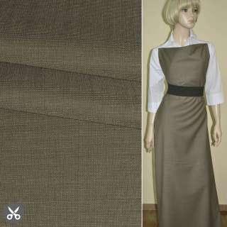 """Ткань костюмная светло-коричневая """"PHILIPP"""" Германия ш.156"""