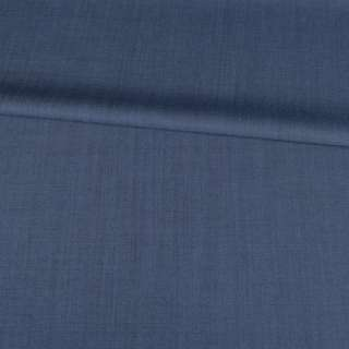 Ткань костюмная стрейч серо-синяя Германия ш.155