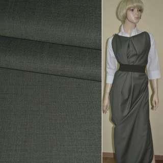 """Ткань костюмная серая """"PHILIPP"""" Германия ш.150"""
