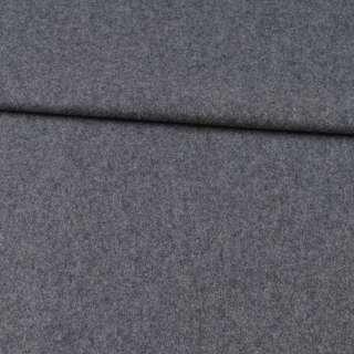 Кашемир шерстяной костюмный серый ш.155