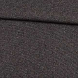 Кашемир костюмный в полоски диагональные серый, ш.157