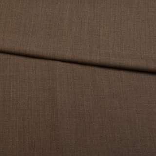 Шерсть стрейч коричневая ш.151