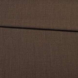 Шерсть стрейч коричневая темная ш.153