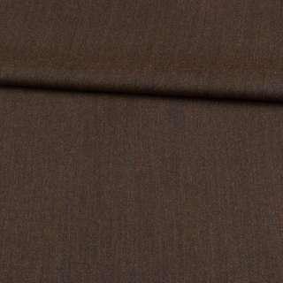 Шерсть костюмная коричневая ш.157