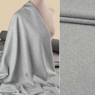 Полушерсть костюмная GUABELLO серая светлая меланж ш.155