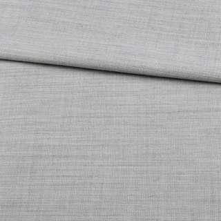 Лен с шерстью костюмный серый светлый ш.155