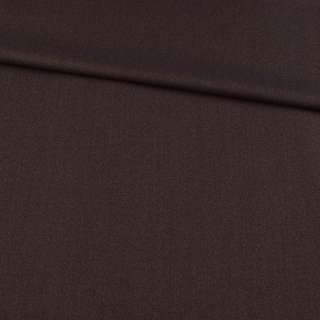 Шерсть костюмная коричневая, ш.158