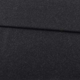 Шерсть костюмная с кашемиром черная MAX MARA, ш.151
