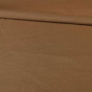 Поплин вискозный коричневый, ш.145