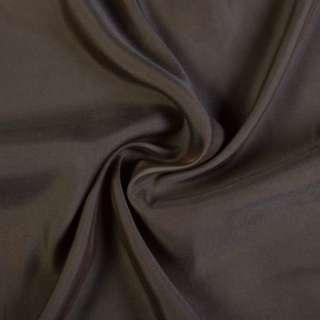 Купра костюмная коричнево-серая, ш.135