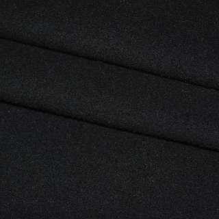 Шерсть пальтовая сине-черная, ш.150