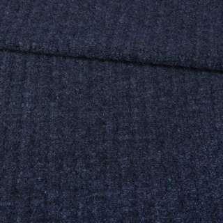 Пальтовый трикотаж Gerry Weber синий темный меланж, ш.145