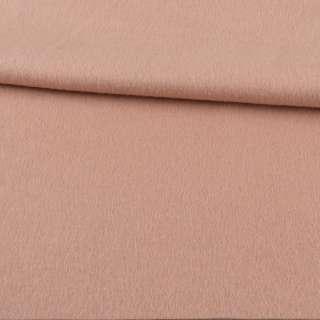 Кашемир пальтовый бежево-розовый ш.152