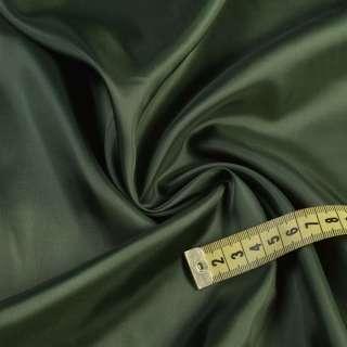 Вискоза подкладочная зеленая темная, ш.140