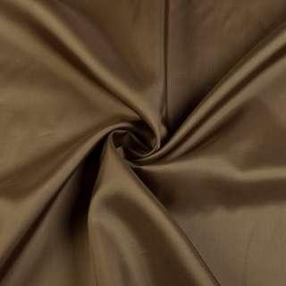 Вискоза подкладочная коричневая, ш.142