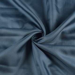 Вискоза подкладочная серо-синяя в ромбы, ш.145