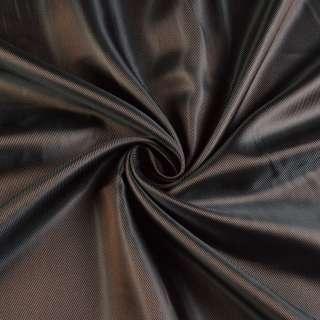Вискоза-ацетат коричневая диагональ, ш.140