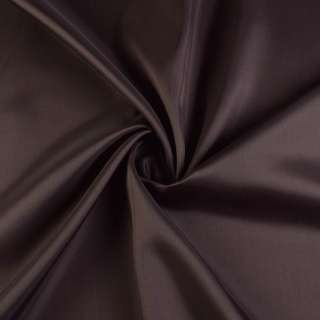 Вискоза-ацетат шоколадная темная, ш.140